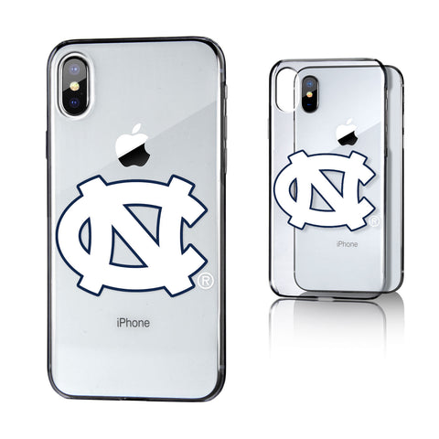 UNC North Carolina Tar Heels Insignia Clear Case for iPhone X