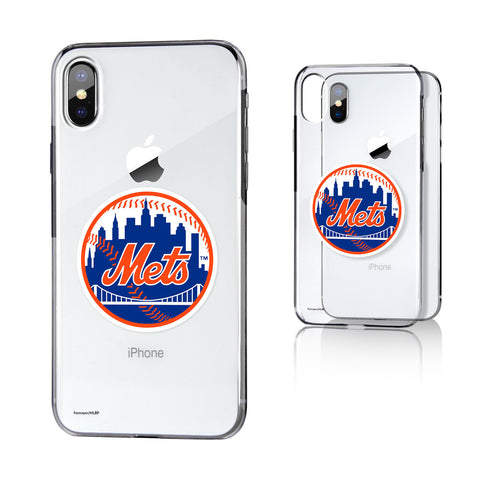 New York Mets Insignia iPhone X / XS Clear Case