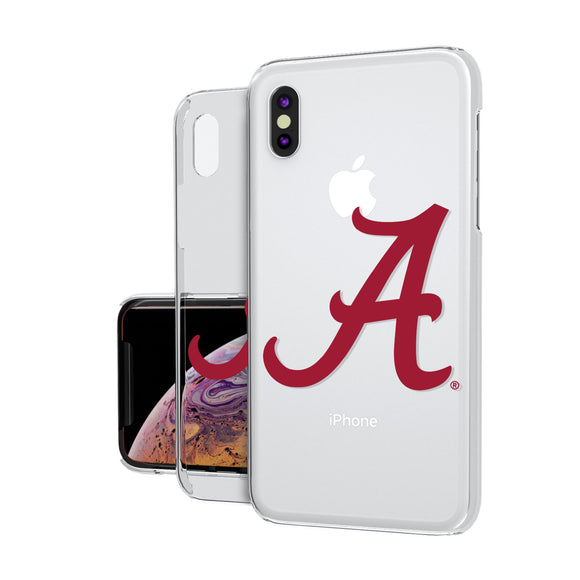 Alabama Crimson Tide Insignia iPhone XS Max Clear Case
