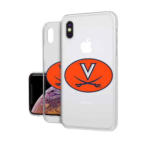 Virginia Cavaliers Insignia iPhone XS MAX Clear Case