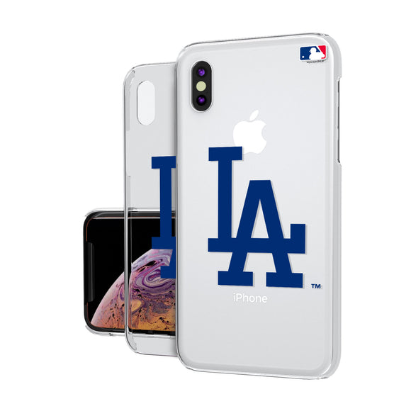 LA Dodgers Dodgers Insignia iPhone XS MAX Clear Case