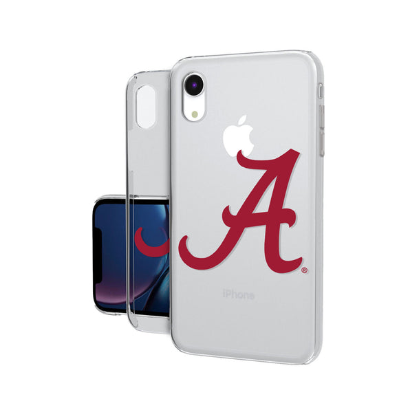 Alabama Crimson Tide Insignia iPhone XR Clear Case