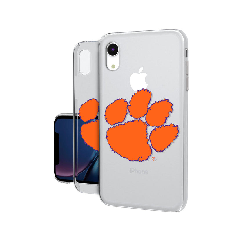 Clemson Tigers Insignia iPhone XR Clear Case