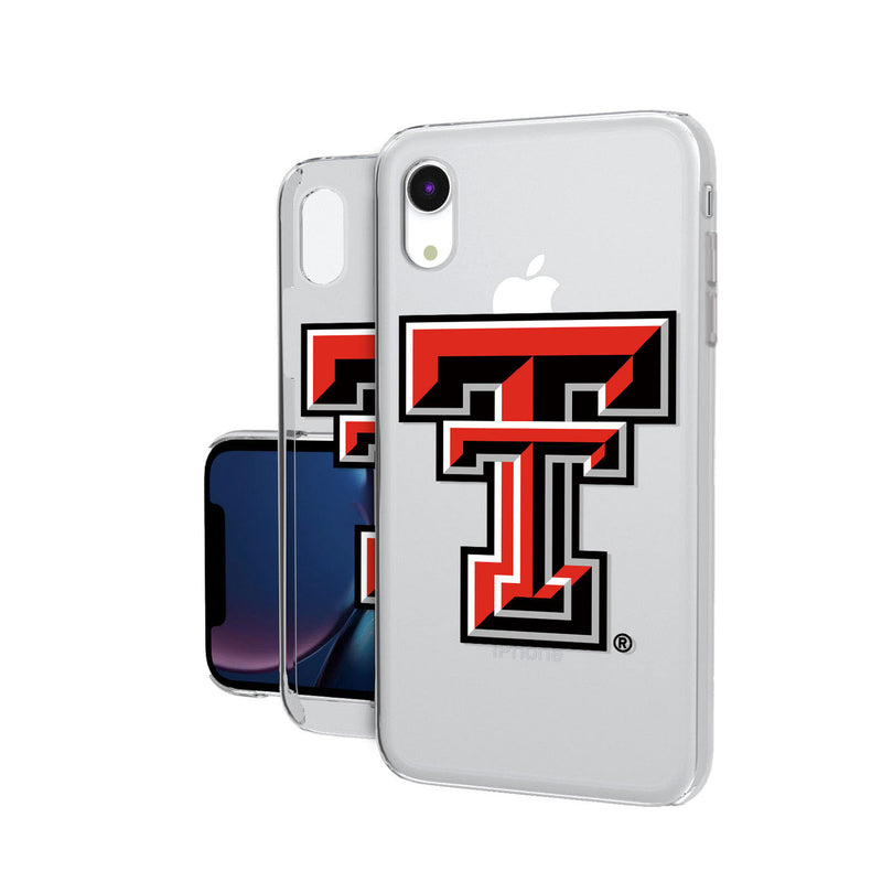 Texas Tech Red Raiders Insignia iPhone XR Clear Case