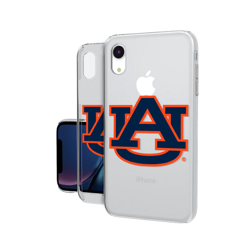 Auburn Tigers Insignia iPhone XR Clear Case