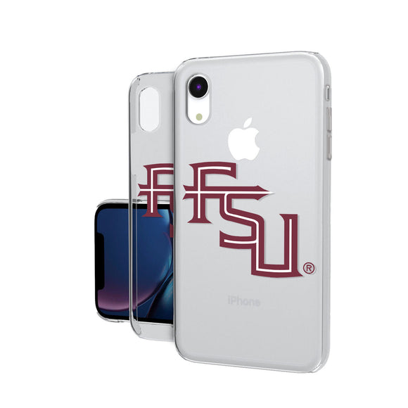 Florida State Seminoles Insignia iPhone XR Clear Case