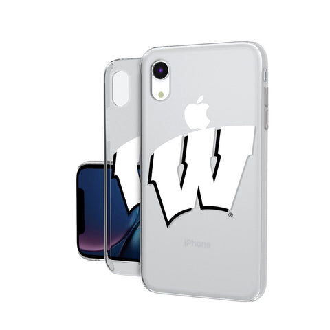 Wisconsin Badgers Insignia iPhone XR Clear Case