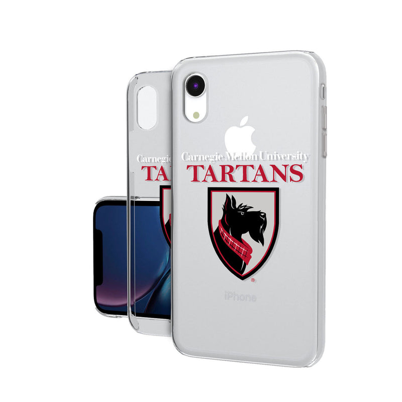 Carnegie Mellon Tartans Insignia iPhone XR Clear Case