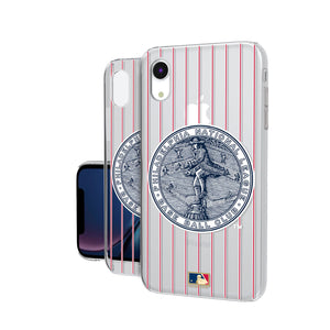 Philadelphia Phillies 1915-1943 - Cooperstown Collection Pinstripe iPhone XR Clear Case