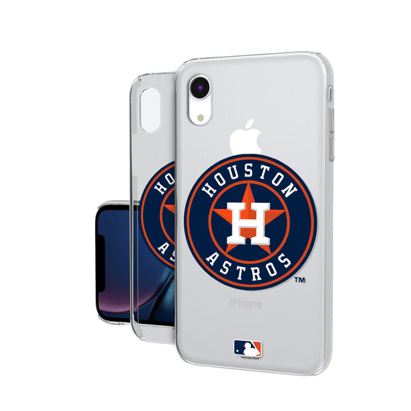 Houston Astros Astros Insignia iPhone XR Clear Case