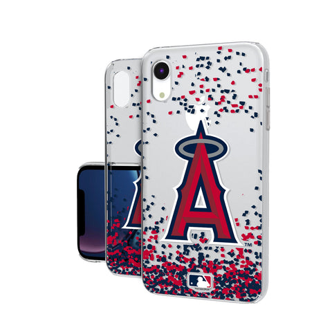 Los Angeles Angels Angels Confetti iPhone XR Clear Case