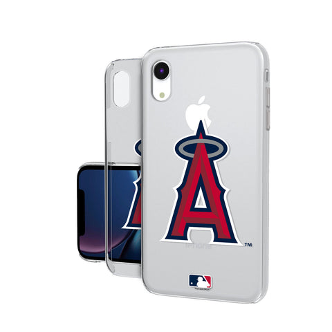 Los Angeles Angels Angels Insignia iPhone XR Clear Case