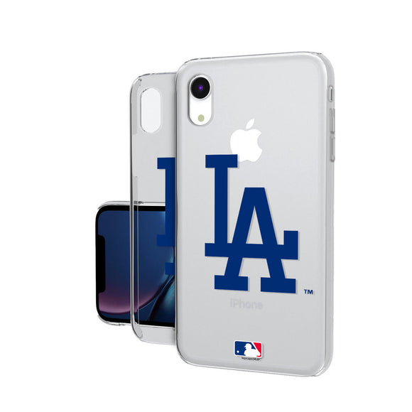 LA Dodgers Dodgers Insignia iPhone XR Clear Case