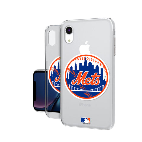 New York Mets Mets Insignia iPhone XR Clear Case