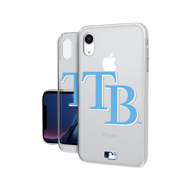 Tampa Bay Rays Insignia iPhone XR Clear Case