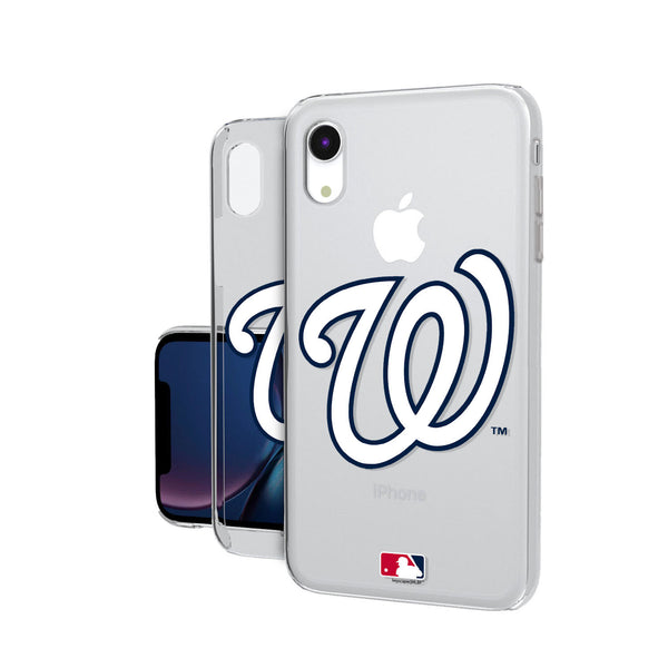 Washington Nationals Insignia iPhone XR Clear Case