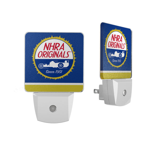 NHRA Stripe Night Light 2-Pack