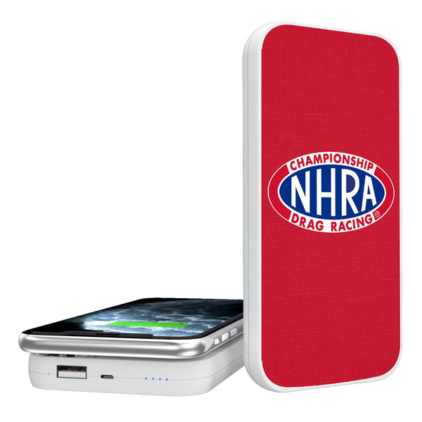 NHRA Solid 5000mAh Portable Wireless Charger