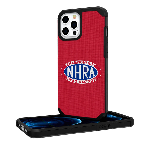 NHRA Speed For All Solid iPhone 12 Pro Max RUgged Case