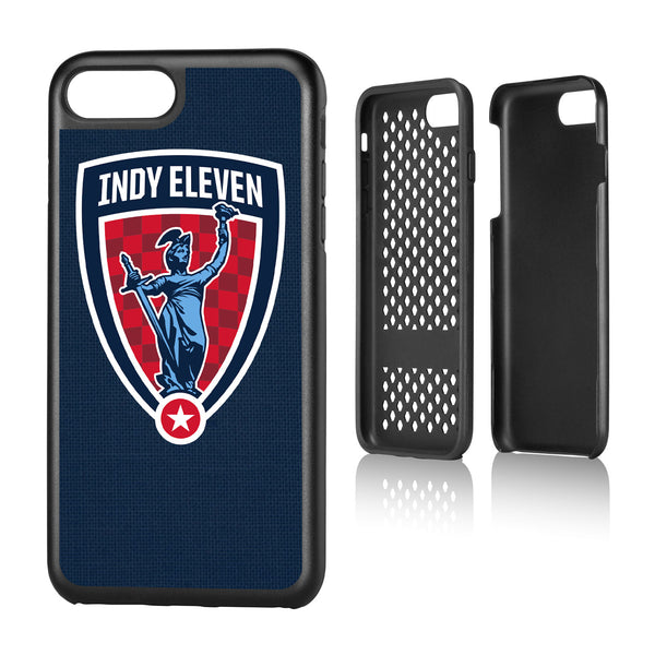 Indy Eleven  Solid iPhone 7+ / 8+ Rugged Case