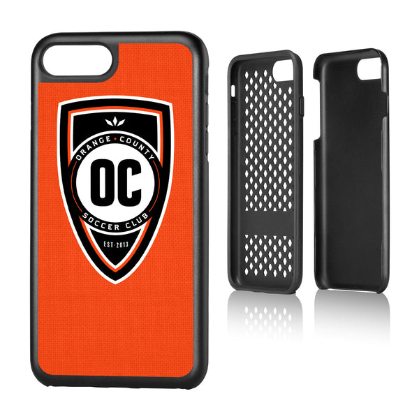 Orange County SC  Solid iPhone 7+ / 8+ Rugged Case