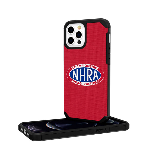 NHRA Speed For All Solid iPhone 12 Pro Rugged Case
