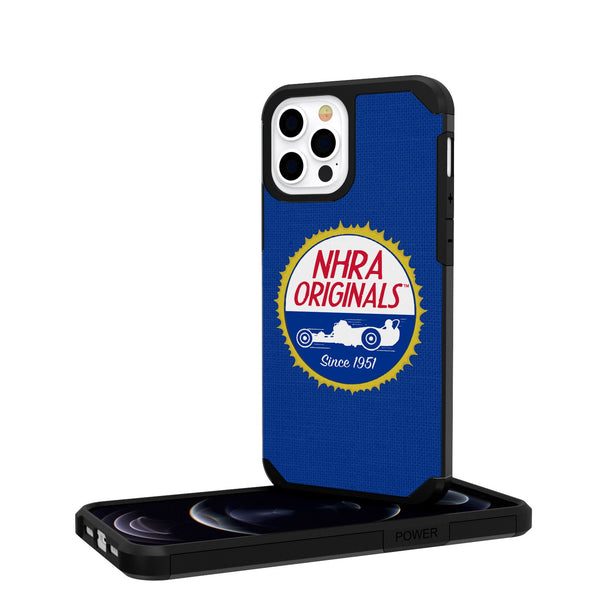 NHRA Originals Solid iPhone 12 Pro Rugged Case