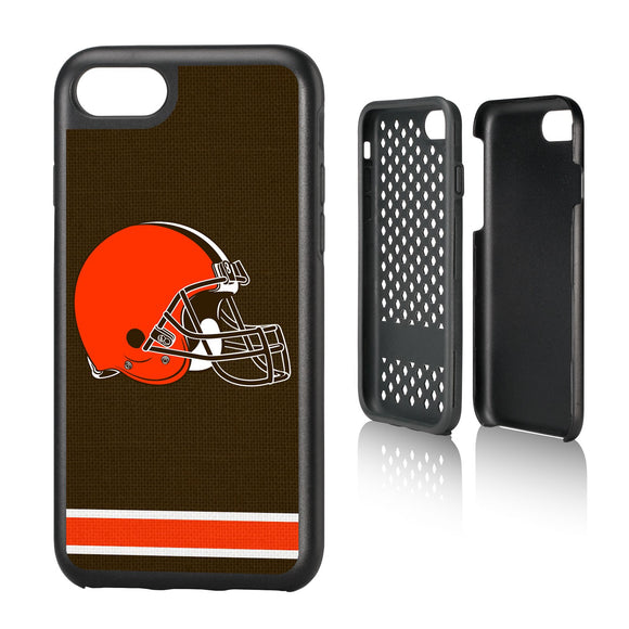 Cleveland Browns Stripe iPhone 7 / 8 Rugged Case