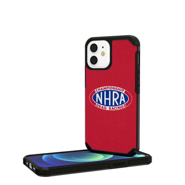 NHRA Speed For All Solid iPhone 12 Mini Rugged Case