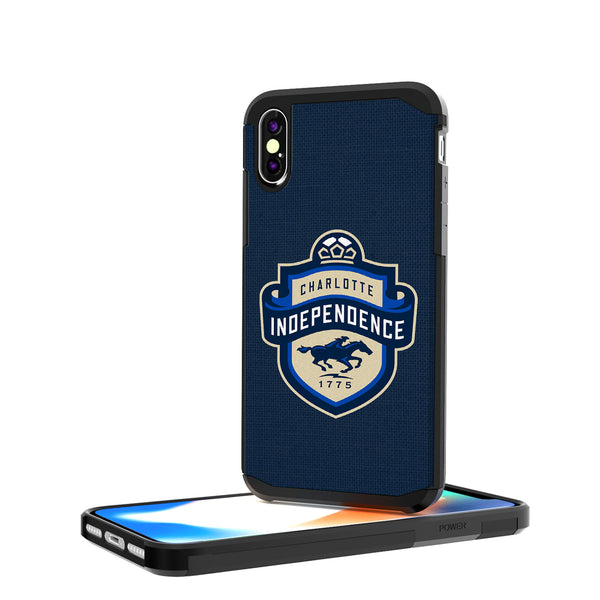 Charlotte Independance  Solid iPhone X / XS Rugged Case