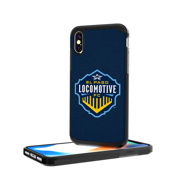 El Paso Locomotive FC  Solid iPhone X / XS Rugged Case