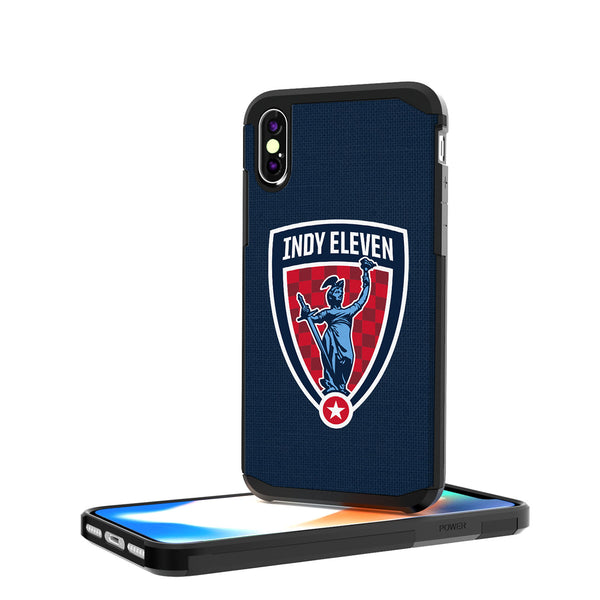 Indy Eleven  Solid iPhone X / XS Rugged Case