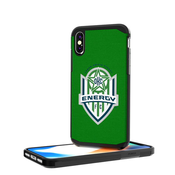 OKC Energy FC  Solid iPhone X / XS Rugged Case