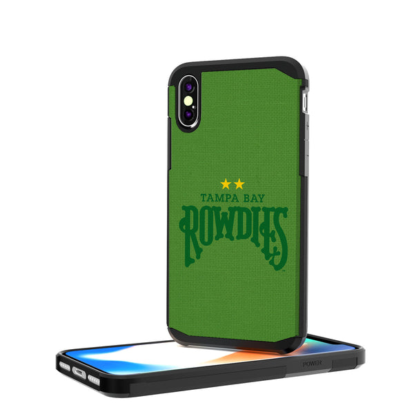 Tampa Bay Rowdies Solid iPhone X / XS Rugged Case