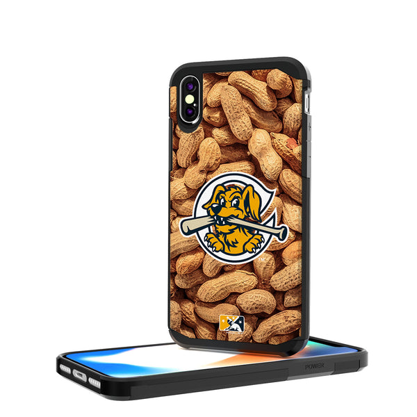Charleston RiverDogs Peanuts iPhone X / XS Rugged Case