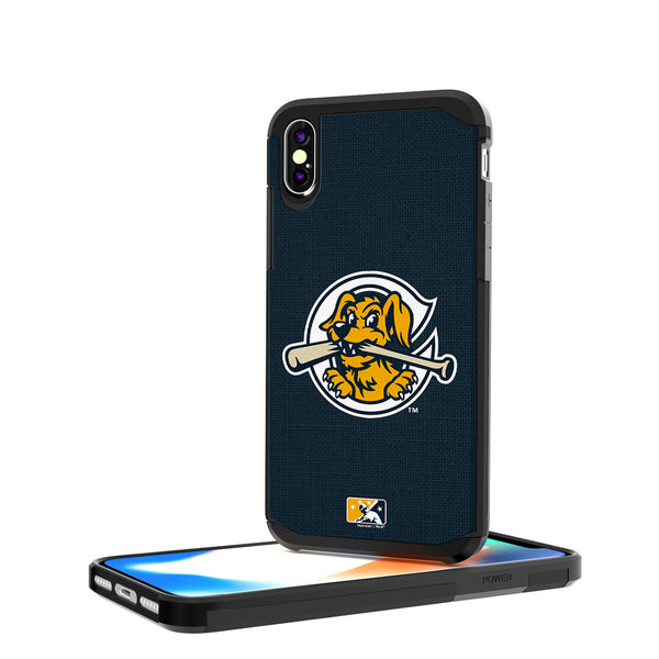 Charleston RiverDogs Solid iPhone X / XS Rugged Case