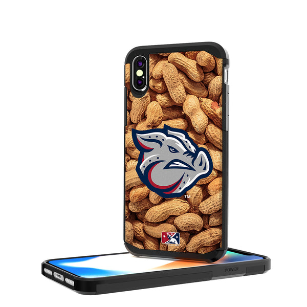 Lehigh Valley IronPigs Peanuts iPhone X / XS Rugged Case