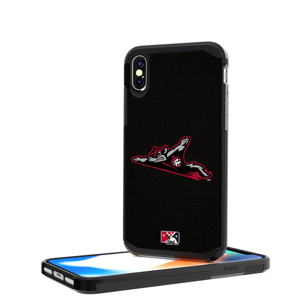 Richmond Flying Squirrels Solid iPhone X / XS Rugged Case