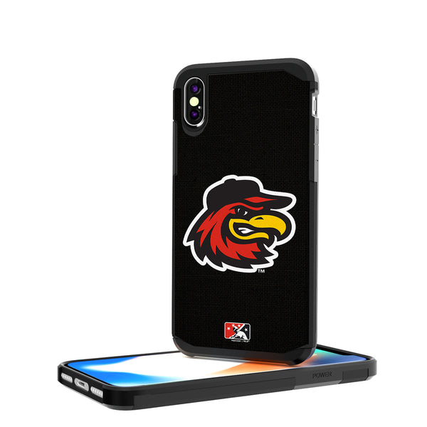 Rochester Red Wings Solid iPhone X / XS Rugged Case