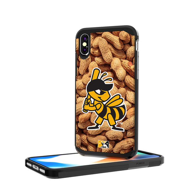 Salt Lake Bees Peanuts iPhone X / XS Rugged Case