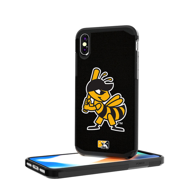 Salt Lake Bees Solid iPhone X / XS Rugged Case