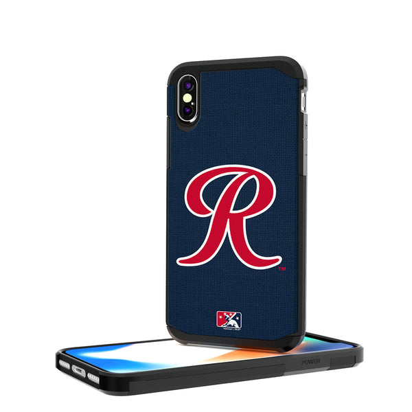 Tacoma Rainiers Solid iPhone X / XS Rugged Case