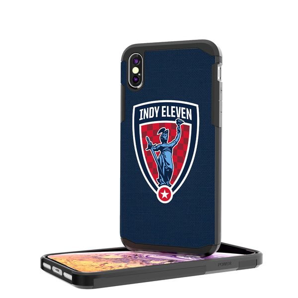 Indy Eleven  Solid iPhone XS Max Rugged Case