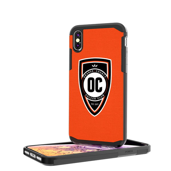 Orange County SC  Solid iPhone XS Max Rugged Case