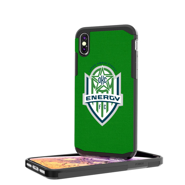 OKC Energy FC  Solid iPhone XS Max Rugged Case