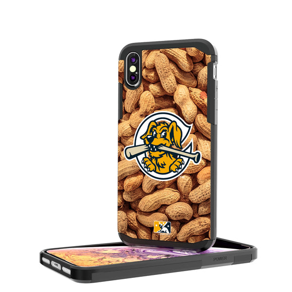 Charleston RiverDogs Peanuts iPhone XS Max Rugged Case