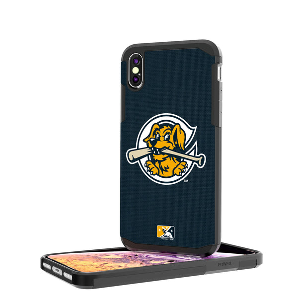 Charleston RiverDogs Solid iPhone XS Max Rugged Case
