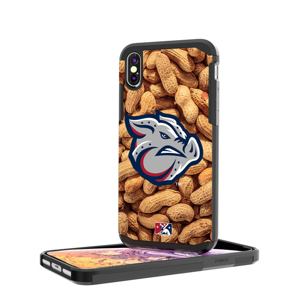 Lehigh Valley IronPigs Peanuts iPhone XS Max Rugged Case
