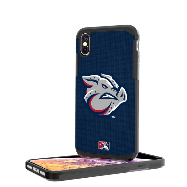 Lehigh Valley IronPigs Solid iPhone XS Max Rugged Case