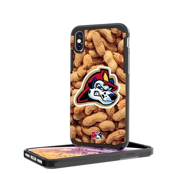 Peoria Chiefs Peanuts iPhone XS Max Rugged Case